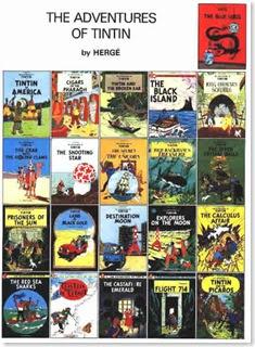 Adventures of Tintin Book Series (Paperback) - Herge Children ...